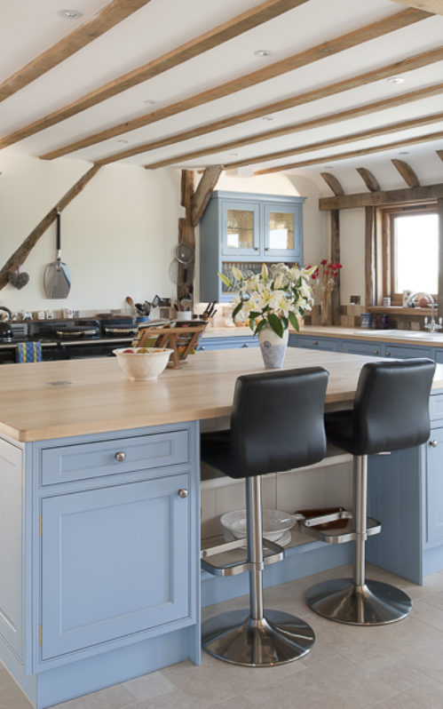 ... Beautiful Barn Conversion In Rye East Sus Barn Conversion Kitchen ...