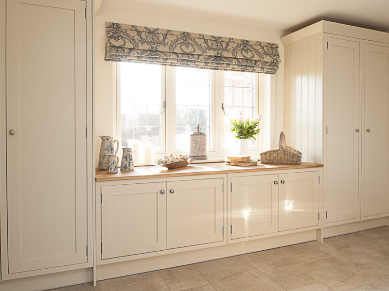 light and airy classic kitchen