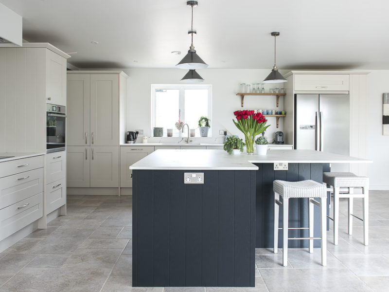 classic monochrome kitchen